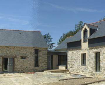 Rénovation longère Rennes